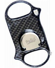 Palio Cigar Cutter Carbon Fiber with Leather Sheath + Free Lotus Impact Lighter