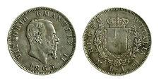 pcc1839_13) Regno Vittorio Emanuele II  1 Lira 1863 - Mi