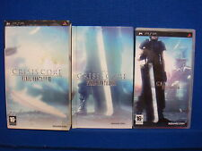 psp CRISIS CORE *x Final Fantasy VII Special Limited Edition PAL