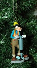 Disney Goofy Construction Worker Christmas Ornament