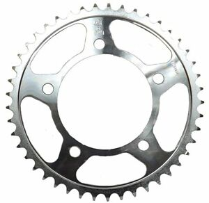 KAWASAKI KE100 SUZUKI DS80 WPS JT 50 TOOTH REAR STEEL SPROCKET #55-80250