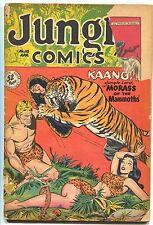 Jungle Comics 112 Fiction House 1949 FR