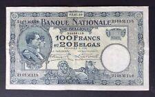 Belgique - Près de Superbe  billet de 100 Francs du  03-07-1930 - Crispy
