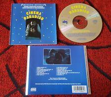 Cinema Paradiso * Soundtrack By Ennio Morricone * Original 1989 Usa Cd