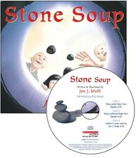 Stone Soup Read Along Books by John J.  Muth(Paperback & CD) FREE shipping $35