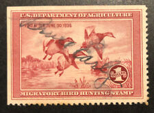 TDStamps: US Federal Duck Stamps Scott#RW2 Used SE