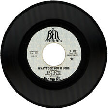 """BAD BOYS  """"WHAT TOOK YOU SO LONG""""  DEMO  NORTHERN SOUL  LISTEN!"""