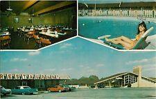 c1970 Plainsman Motel, Blackwell, Oklahoma Postcard