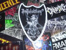 Inquisition Woven Shape Patch Black Metal Horna
