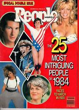 1984 People December 24-31-Most Intriguing; Springsteen; Fawcett;Michael Jackson