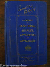 EVERYTHING ELECTRICAL SUNCO 1926 Catalogue of Supplies Apparatus Appliances