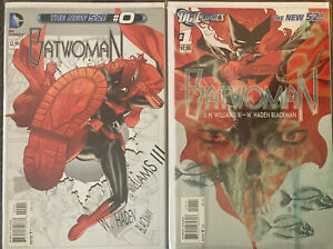 Huge Lot Of 13 2011 Batwoman #0,1,2,3,4,5,6-12 Complete Run See Pics
