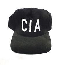 Embroidered Baseball Cap / Hat Costume Accessory - CIA - Baseball Cap [NEW]