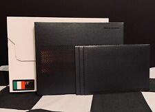 2011 McLAREN MP4-12C COUPE BROCHURE SET VIP PACK PROSPECT SLIPCASE & BOX ITALIAN