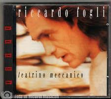 RICCARDO FOGLI - TEATRINO MECCANICO **NUOVO SIGILLATO**1992