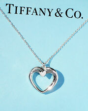 Tiffany & Co Plata De Ley Mediana Paloma Picasso Tenderness Collar Corazón