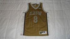 Kr3w Krew Gold #8 Men's Size Medium Stitched Basketball NBA Jersey