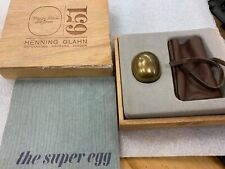 The Super Egg By Piet Hein Original Brass Amazing Condition w/Box, vintage