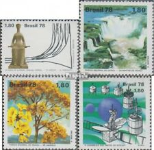 Brazil 1667,1668-1669,1670 (complete.issue.) unmounted mint / never hinged 1978