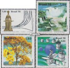 Brasilien 1667,1668-1669,1670 (kompl.Ausg.) postfrisch 1978 Gerichtshof, Natursc