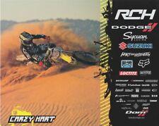 2013 Carey Hart RCH Suzuki RM-Z450F AMA Supercross Motocross postcard
