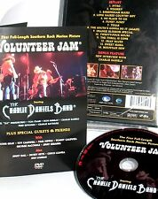 Charlie Daniels Band- Volunteer Jam,Movie NEW DVD, Allman Brothers,Dickey Betts