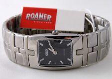 ROAMER SC2134 Damen Uhr Edelstahl schwarz Saphirglas SWISS MADE UVP*249,00€ NEU