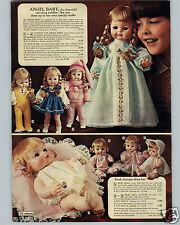1971 PAPER AD Horsman Dolls Doll Angel Baby Dear Ginny