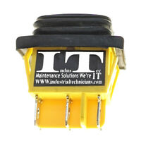 IndusTec DPDT 20A 6 - PIN (on) off (on) Momentary Rocker Waterproof 12V