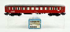 MARKLIN HO SCALE 4045 096-9 TIN DSB PASSENGER CAR -B