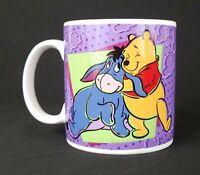 Vintage 1997 Sakura Disney Winnie the Pooh Bear and Eeyore Mug Coffee Cup