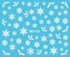 Nailart stickers autocollants ongles scrapbooking: gui flocons de neige