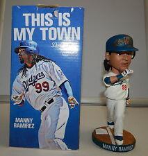 Manny Ramirez 2009 LA Dodgers GRAND SLAM HOME RUN GAME Bobble Bobblehead SGA R11