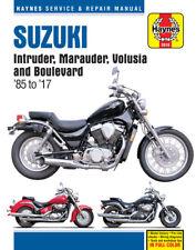 2618 Haynes Suzuki Intruder, Marauder, Volusia & Boulevard 1985 - 2017 Manual