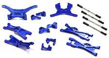 Integy C25144BLUE Billet Machined Complete Suspension Kit for Associated SC10B