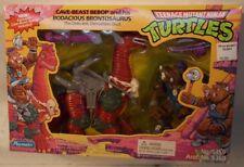 Teenage Mutant Ninja Turtles TMNT Cave Beast Bebop & His Bodacious Brontosaurus