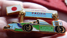 PIN'S F1 FORMULA ONE BENETTON SCHUMACHER GRAND PRIX PACIFIC 94 ZAMAC JFG MIAMI