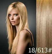 7 Pieces Premium Clip in 100% Remy Human Hair Extensions  Range Color & Length