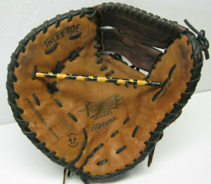 "Mizuno GXF-91 12.75"" Baseball Softball Glove First Base Mitt LHT Left Hand Throw"