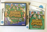 NEW Sealed Animal Crossing Wild World (Nintendo DS) Lite DSi XL 3DS 2DS