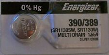 Energizer Watch Battery 390/389 replaces SR1130SW, SR1130W, V389, V390, Type `M`