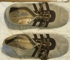 Vintage Women'S Cloth Brunswick Bowling Shoes Size 6 Us Made As Is
