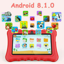 Kids Tablet 7''Android 8.1 1G+8GB Quad Core Dual Camera WiFi For Kids Xmas Gift