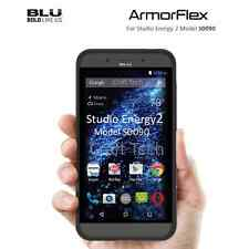 Blu Studio Energy 2 Case Armorflex Phone Cover Perfect Fit Black