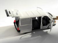 Volkswagen VW T4 t 4 Transporter in weiß bianco blanc white, Schabak in 1:43!
