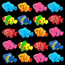 20pcs Fish Tank Ornament Aquarium Decor Artificial Plastic Fake Fish Decoration