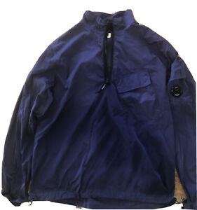 Mens Cp Company Quarter Zip Overshirt XL