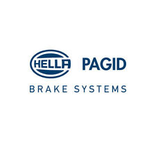 BMW 128i Hella Front Brake Pads With Pad Sensor 34116777772 34356792559