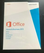 Microsoft Office Home & Business 2013 - Brand new in plastic
