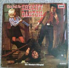 """12"""" Vinyl Album Western Hörspiel Kein Fall für Sheriff Danton Europa Kult"""
